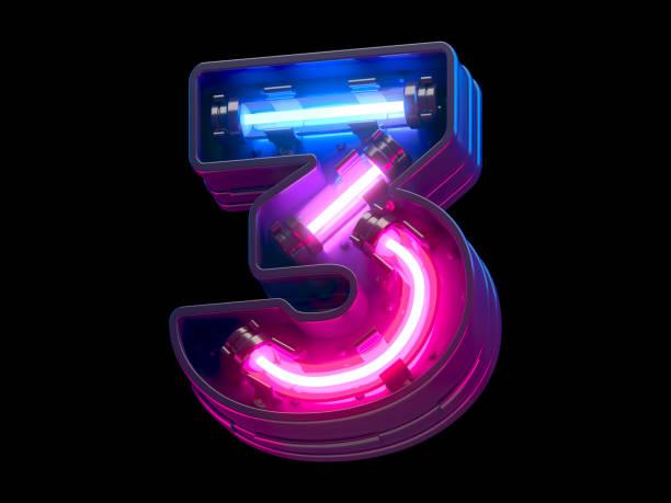 ultraviolet neon futuristic. - terceira imagens e fotografias de stock