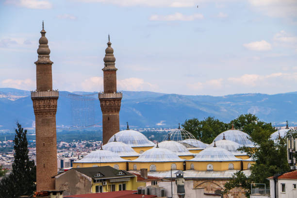 Ulu Cami (Grand Mosque of Bursa), Turkey Ulu Cami (Grand Mosque of Bursa), Turkey grand mosque stock pictures, royalty-free photos & images