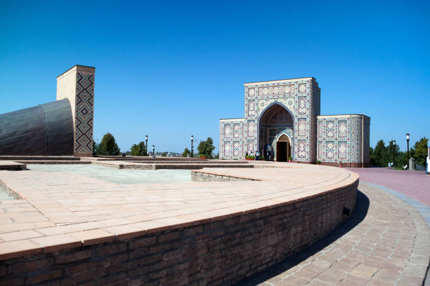 Ulugh Beg Observatory in Samarkand, Uzbekistan, built in the 1420s