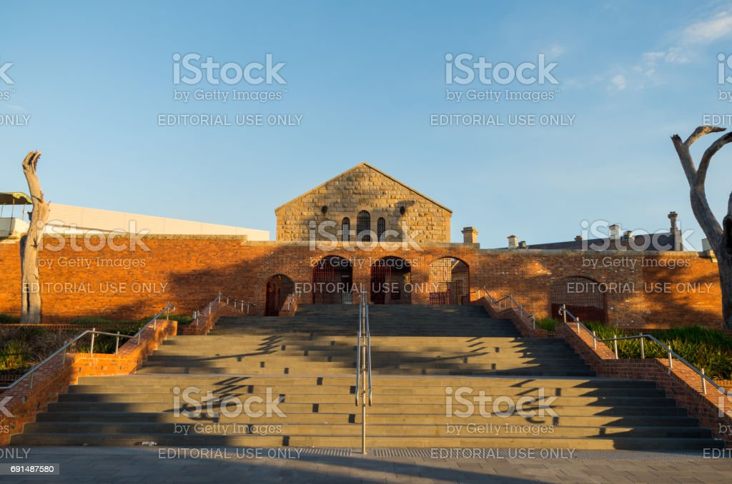 Ulumbarra Theatre in the former Bendigo jail stock photo