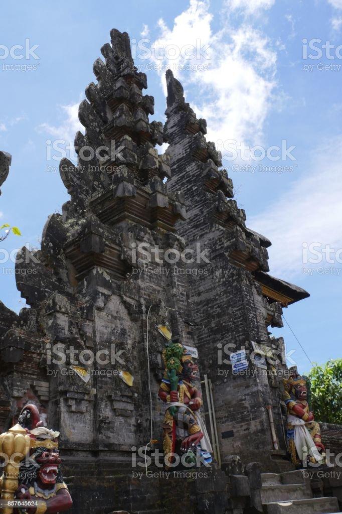 Ulun Danu Batur temple in Kintamani, Bali stock photo