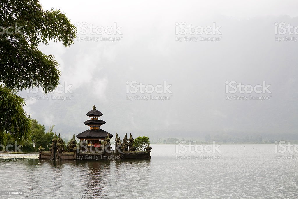 Pura Ulun Danu Bratan royalty-free stock photo