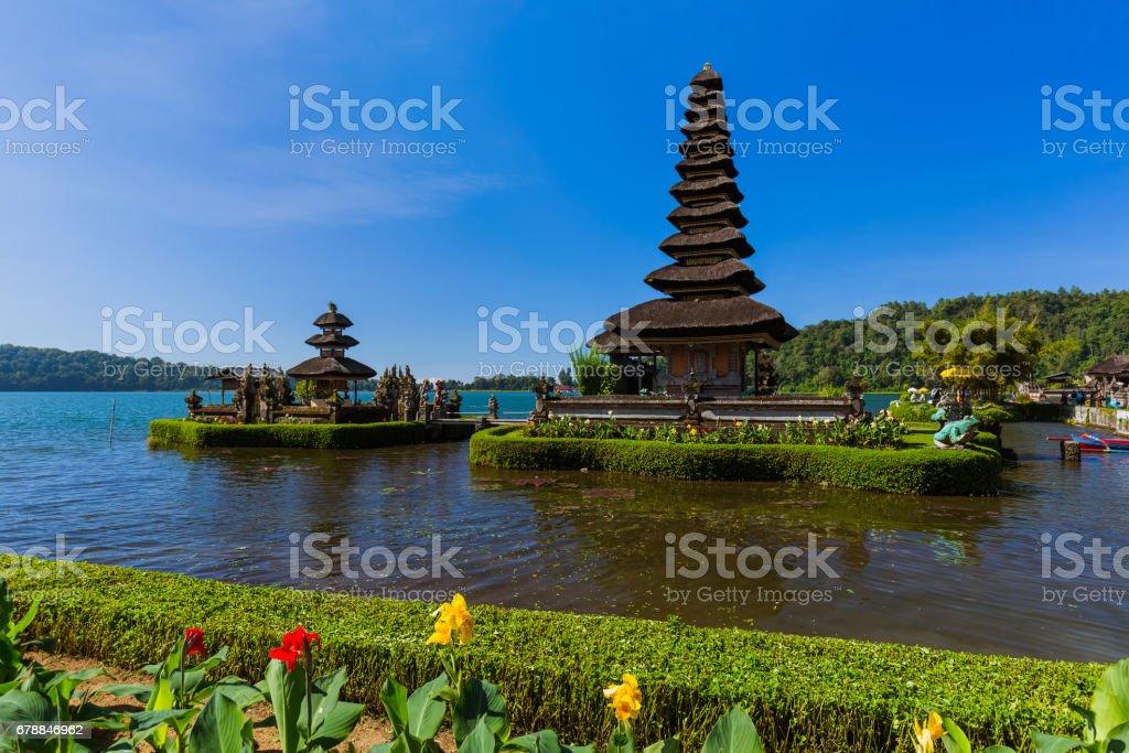 Ulun Danu Temple - Bali Island Indonesia royalty-free stock photo