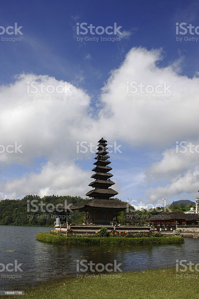 Ulun Danu Temple, Bali royalty-free stock photo