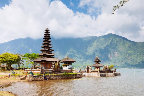 Der Beratan-Tempel in Bali, Indonesien – Foto