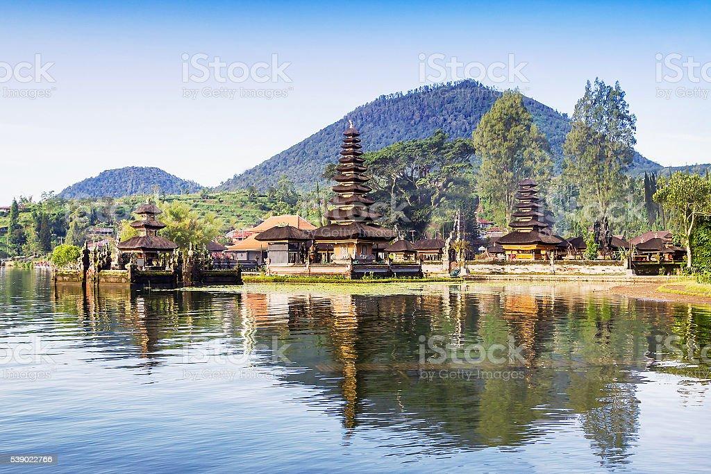 Ulun Danu temple stock photo
