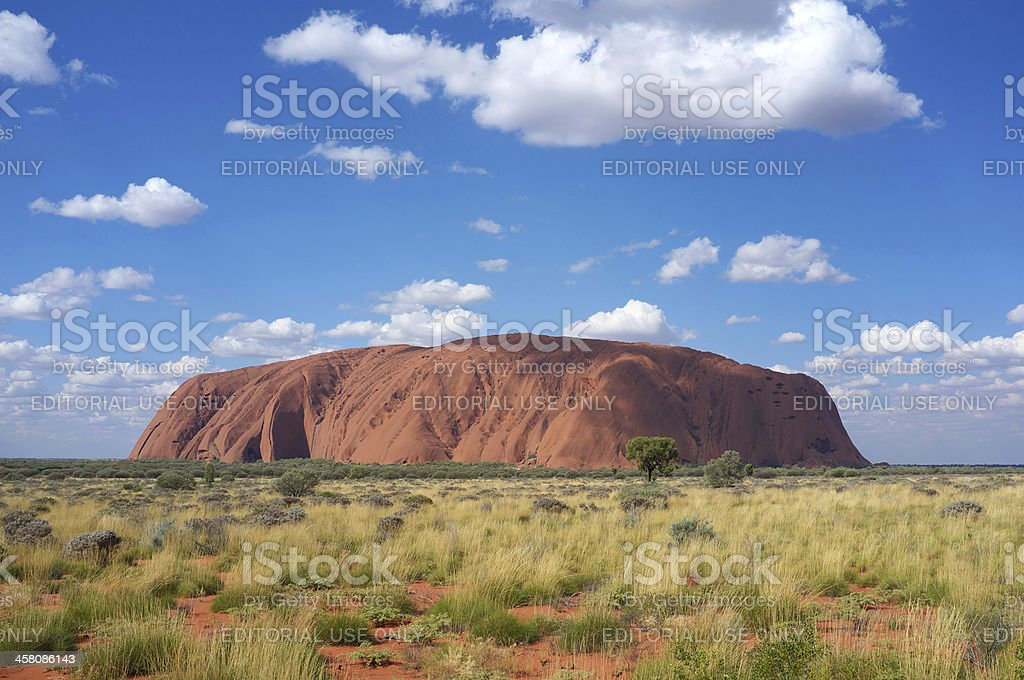 Uluru By Day stock photo