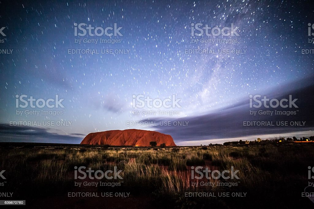 Uluru Kata Tjuta national park, Australia stock photo