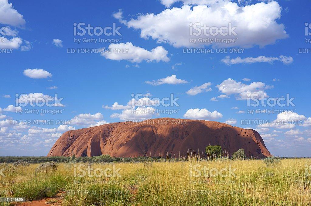 Uluru, Northern Territory Australia stock photo