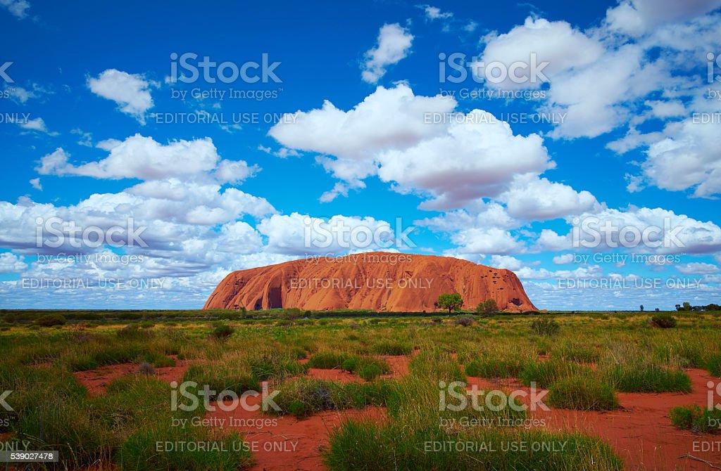 Uluru Scenic Australian Northern Territory stock photo
