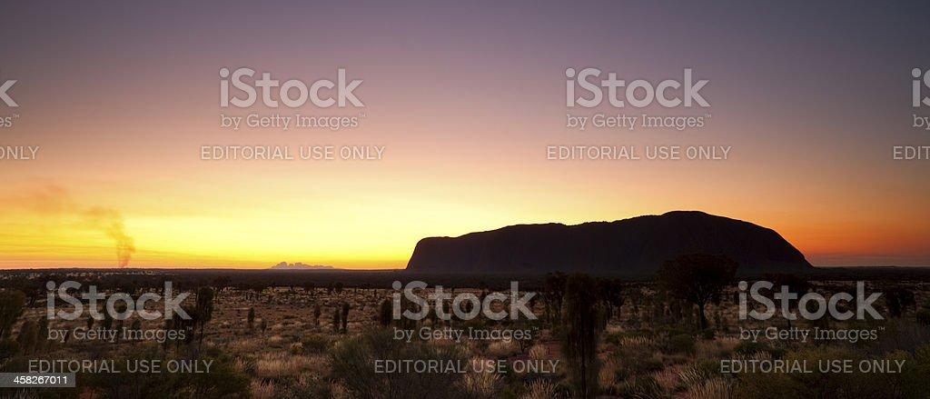Uluru-Kata Tjuta National Park royalty-free stock photo
