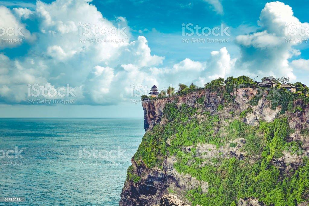 Uluwatu Temple Point In Southern Bali Island Indonesia Stock Photo