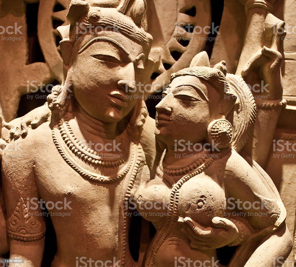 Uma-Maheshvara royalty-free stock photo