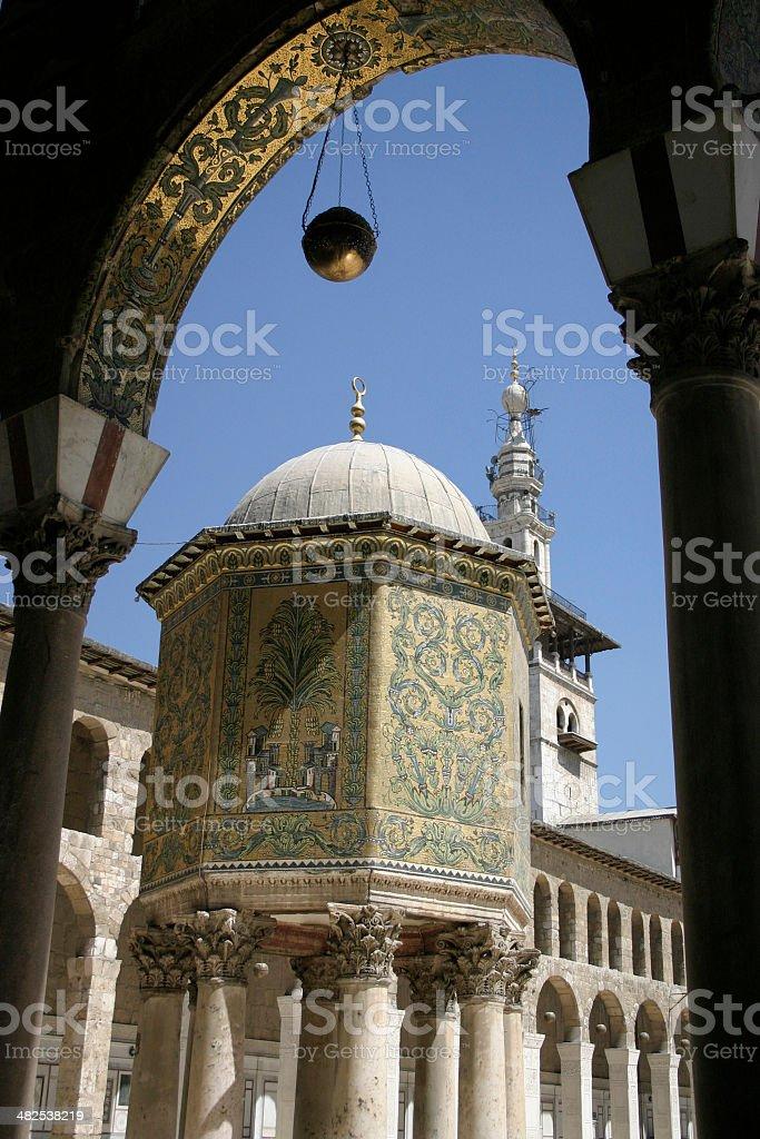Umayyad Mosque Damascus stock photo