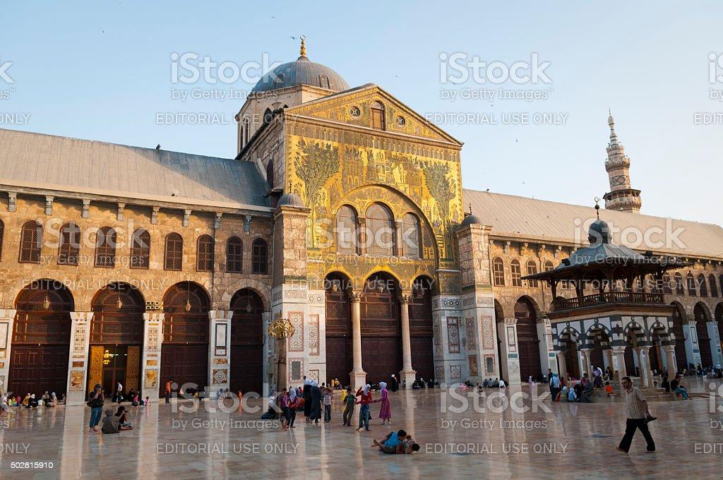 Umayyad Mosque - Damascus, Syria stock photo