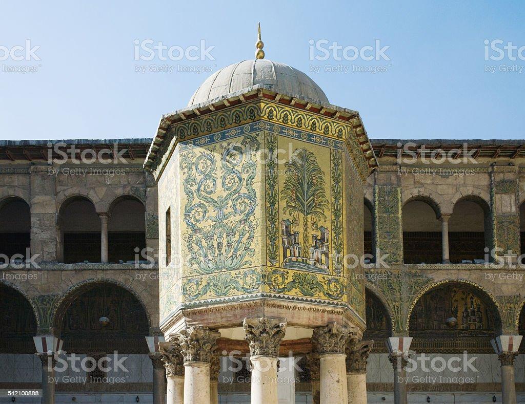 Umayyad Mosque in Damascus stock photo