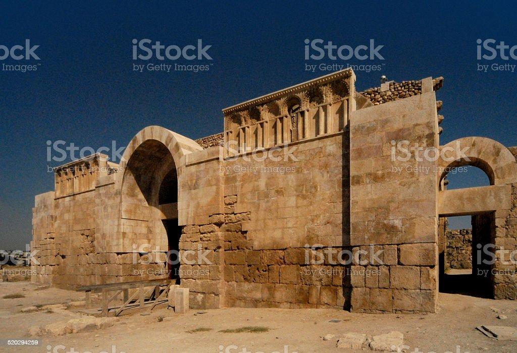 Umayyad Palace, Amman, Jordan stock photo