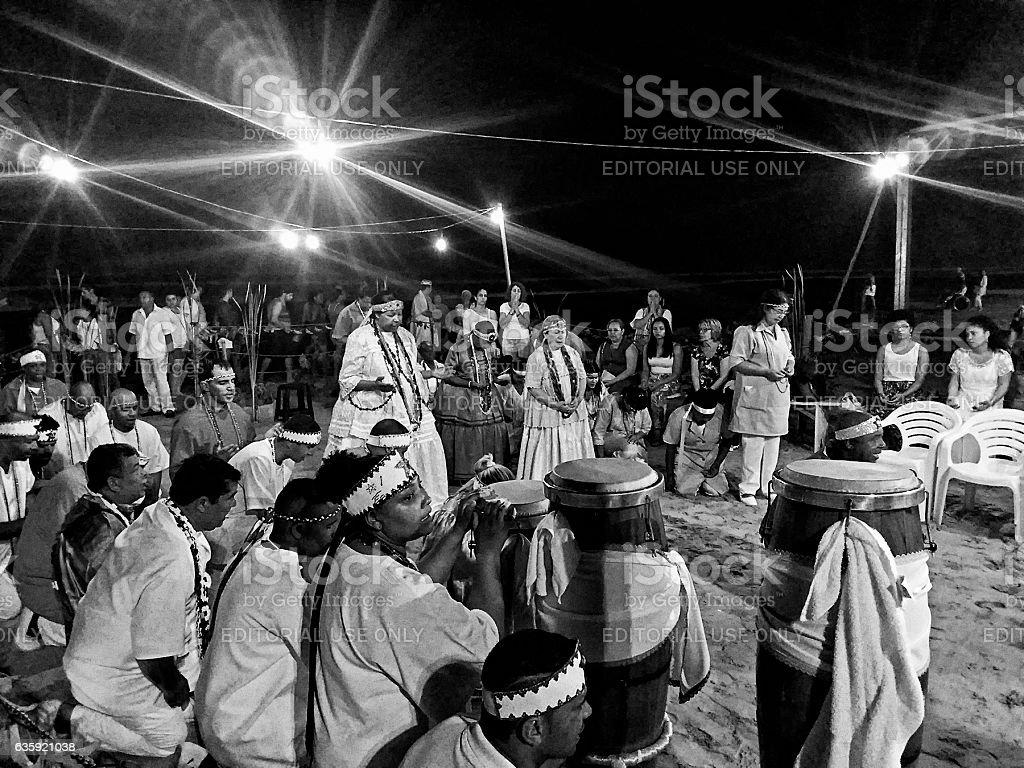 Umbanda Cult stock photo
