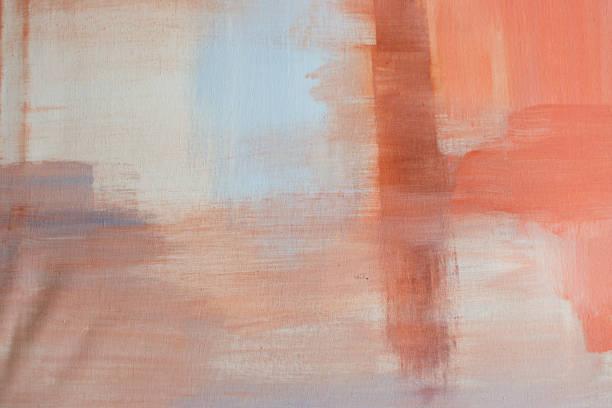 umber ve portakal sanat - akrilik boyama stok fotoğraflar ve resimler