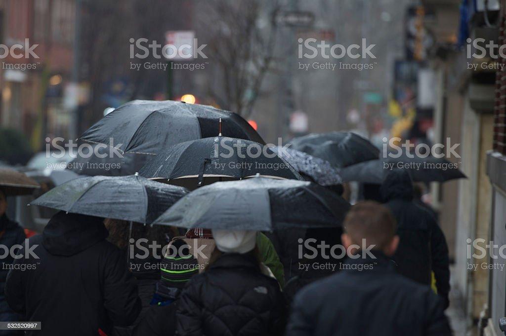 Regenschirm Brigade Lizenzfreies stock-foto