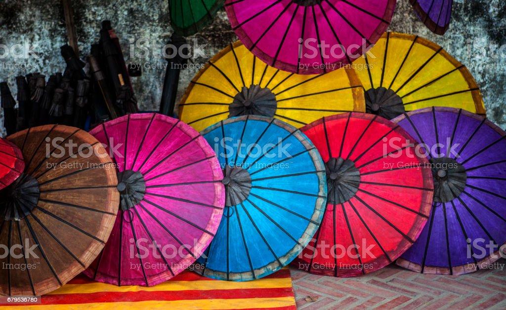 Umbrella Collection royalty-free stock photo