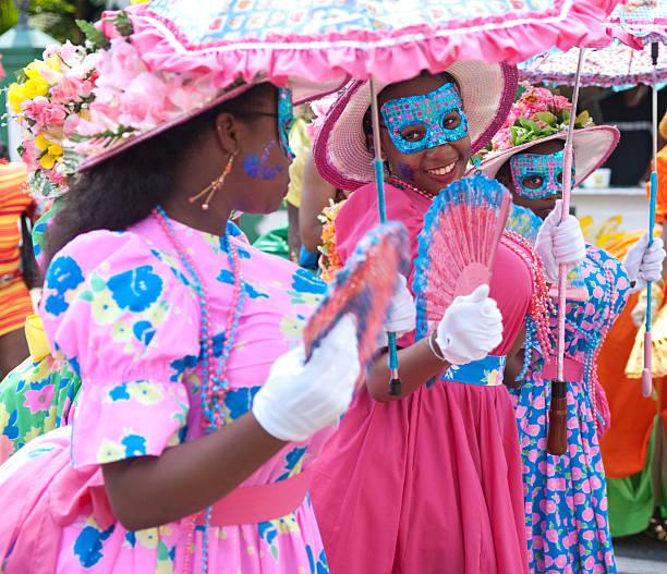 Umbrella Dames stock photo