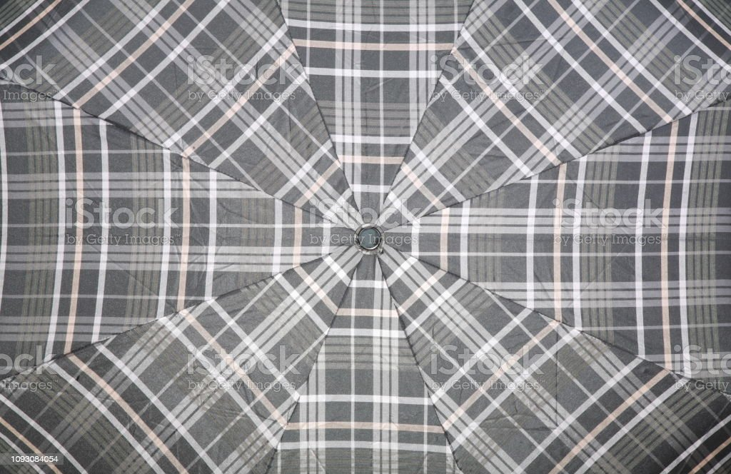 umbrella fabric stock photo