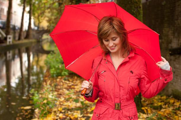 umbrella girl - double_p stockfoto's en -beelden