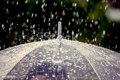 691761646istockphoto Umbrella in the rain 691761620