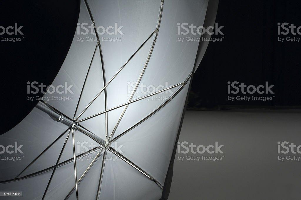 umbrella lighted lamp royalty-free stock photo