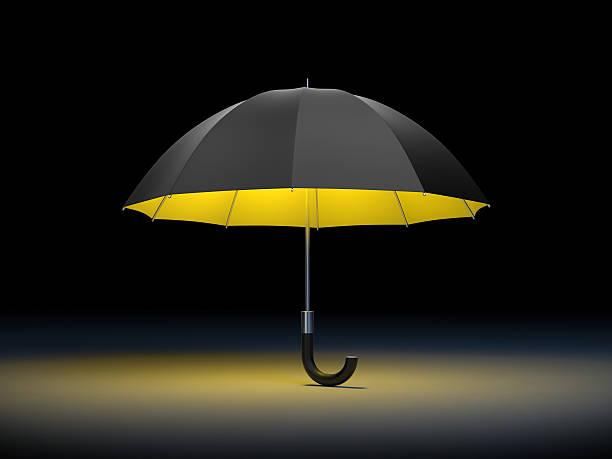Umbrella with light – Foto