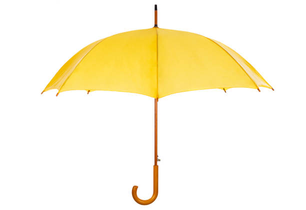 umbrella+clipping path - umbrellas stock photos and pictures