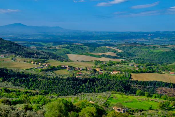 Umbria landscape. View from Civitella del Lago (central Italy) Umbria landscape. View from Civitella del Lago (central Italy) umbria stock pictures, royalty-free photos & images