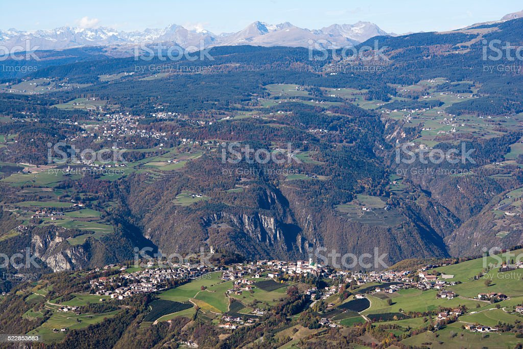 Umes, Fiè allo Sciliar, South Tyrol stock photo