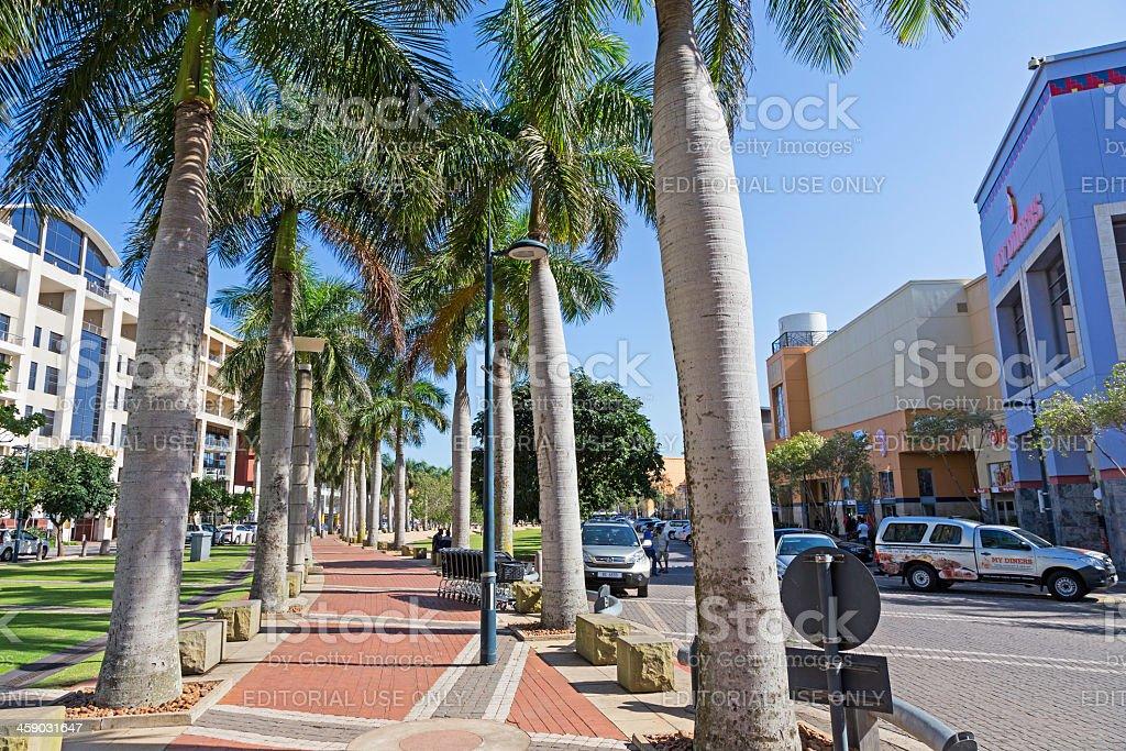 Umhlanga Gateway Shopping Mall royalty-free stock photo