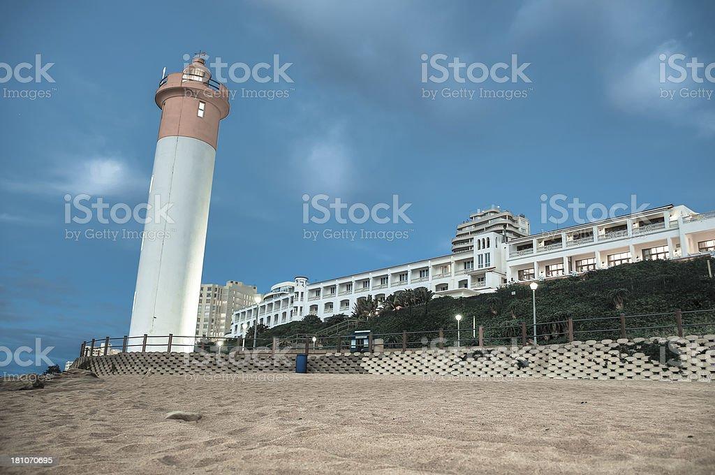 Umhlanga Rocks Lighthouse royalty-free stock photo