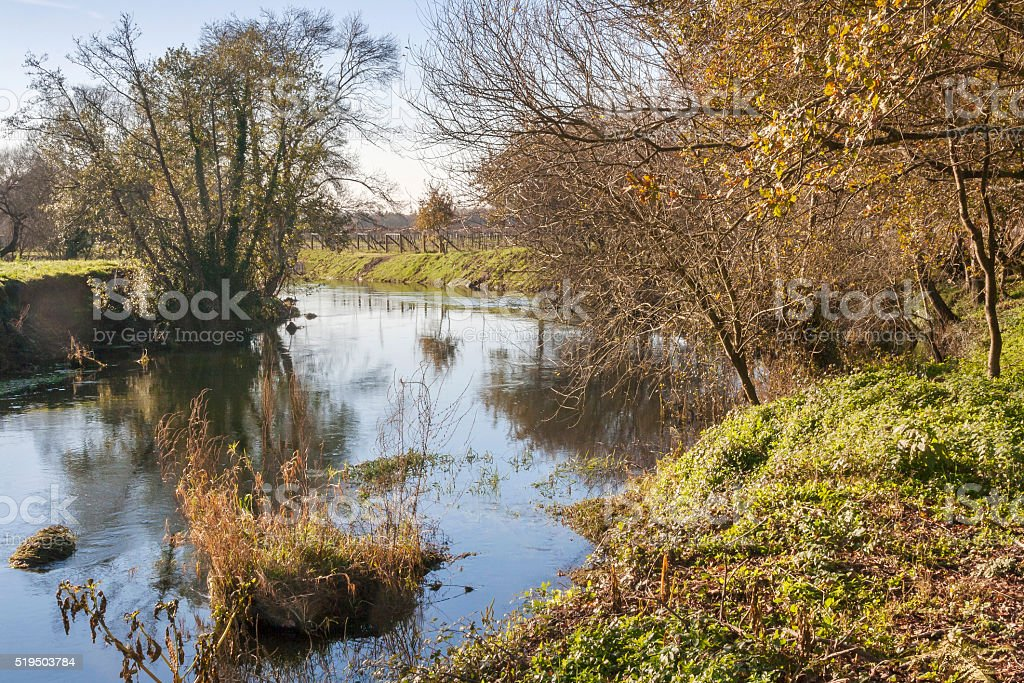 Umia river royalty-free stock photo