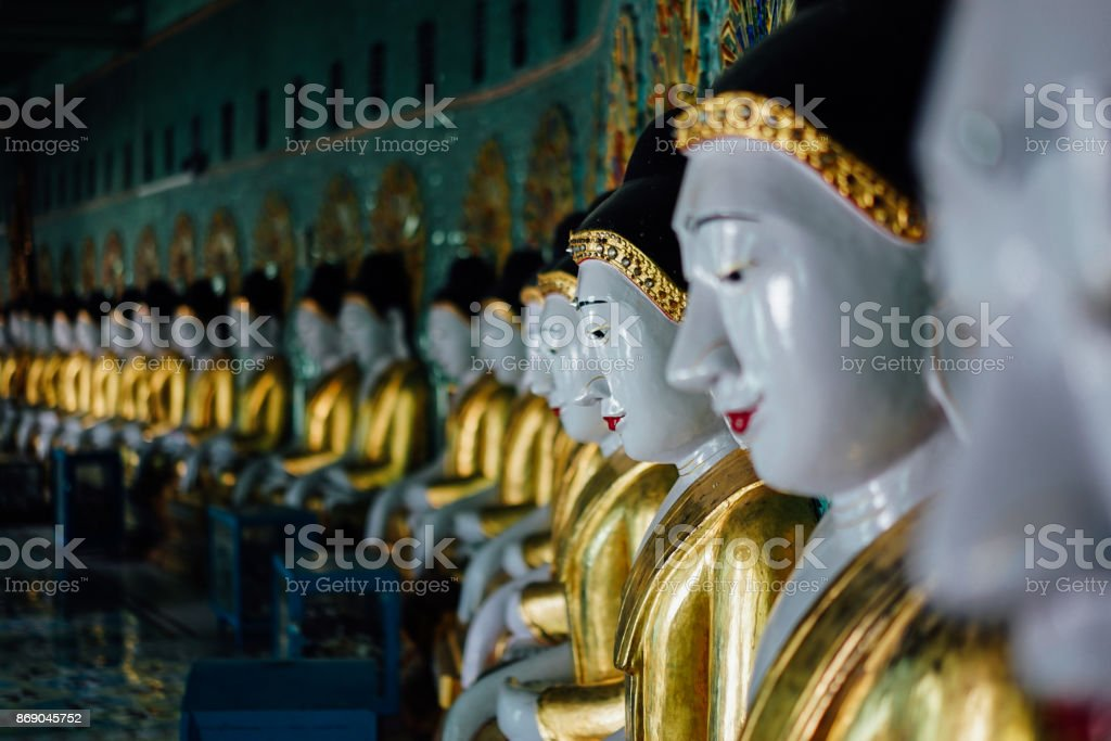 U-Min-Thone-Sel Pagoda. Sagaing Hill. Mandalay, Myanmar stock photo