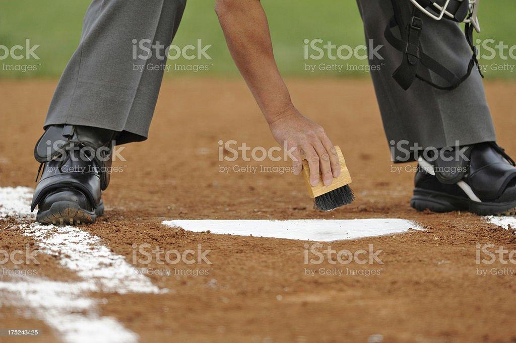 Umpire stock photo
