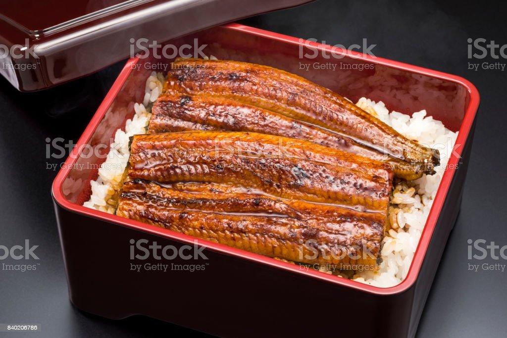 Unaju ist die traditionelle japanische Küche der gegrillte Aal. – Foto