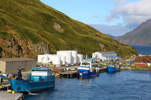 Unalaska-Niederländischer Hafen – Foto