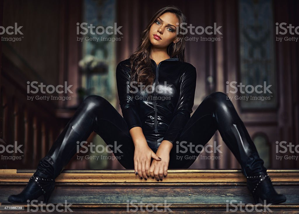 Unashamedly sexy stock photo