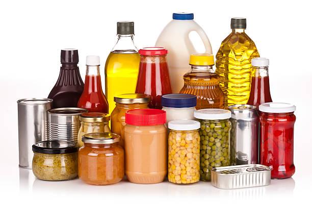 식료품 - 통조림 식품 뉴스 사진 이미지