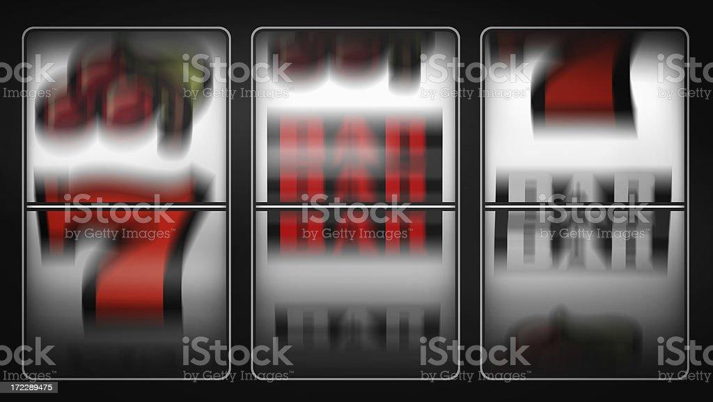 Uncertain Spin stock photo
