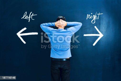 istock Uncertainty: man in doubt 187716146