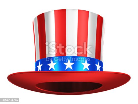 istock Uncle Sam hat 454294747