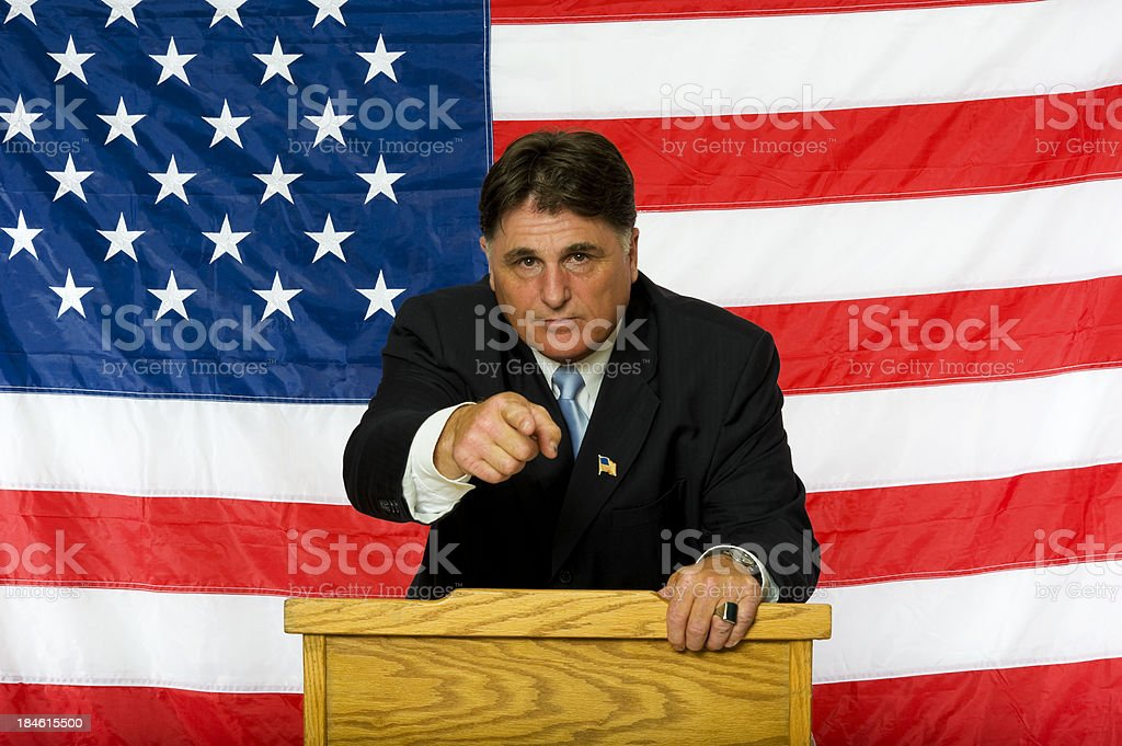 Uncle Sam wants you stock photo