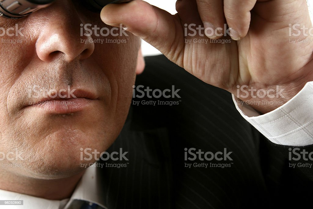 Unclear Future royalty-free stock photo