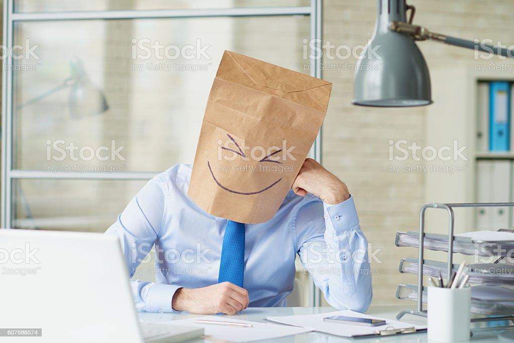 Uncommon business stock photo