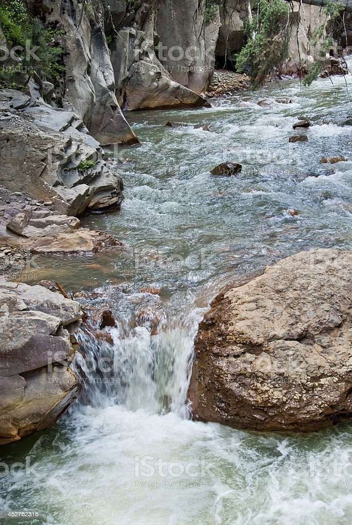 Uncompahgre River royalty-free stock photo